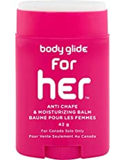Body Glide for Her Moisturizing Anti Chafe Balm Stick (for Canadian Sale Only)