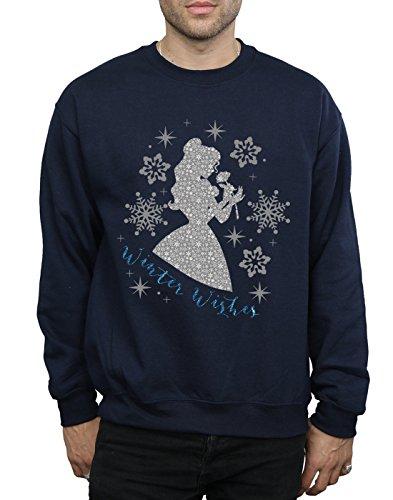 Armada Hombre De Entrenamiento Silhouette Belle Princess Winter Camisa Disney 8R4TqxT