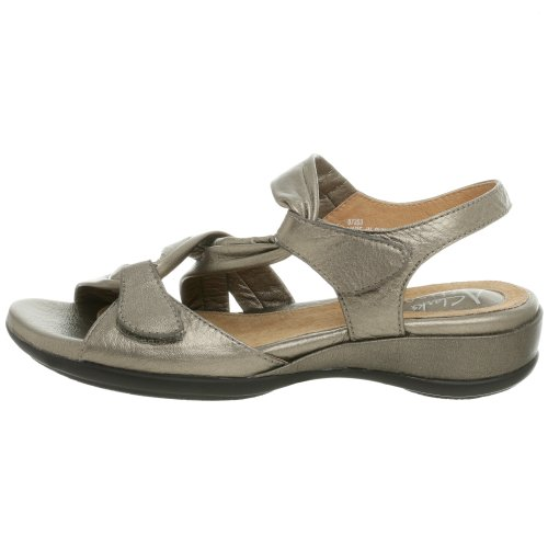Lucena Sandalo Pewter Lucena Clarks Metallic Metallic Clarks Sandalo Pewter vEqtUt