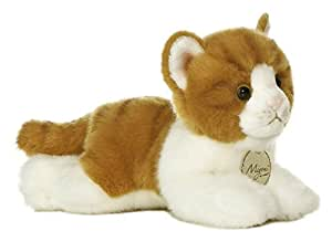 "Aurora World Miyoni Orange Tabby Cat Plush, 8"""