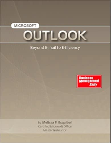Ms Office Outlook Pdf