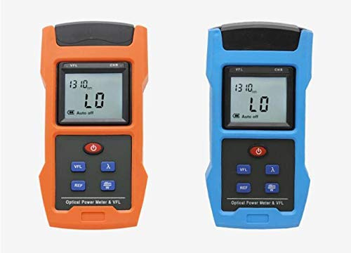 2 in 1 USB Charging Optical Power Meter with VFL 850,1300,1310,1490,1550,1625nm Network Cable Tool for CATV CCTV Test -70~+10dBm (-50 26dBm -70 10dBm) (-50 26dBm)