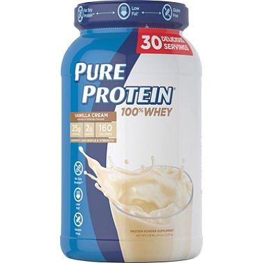 Pure Protein Plus French Vanilla Dietary Supplement - 2.25 pound.