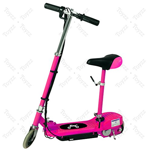 New 2017 Electric E Scooter Ride on Rechargeable Battery Removable Seat...