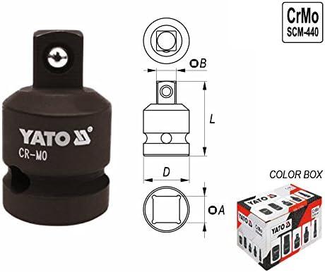 Druckluft Schlagschrauber Nuss Reduzierstück Adapter 3 4 Auf 1 Baumarkt