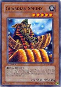 - Yu-Gi-Oh! - Guardian Sphinx (SD7-EN005) - Structure Deck 7: Invincible Fortress - 1st Edition - Common