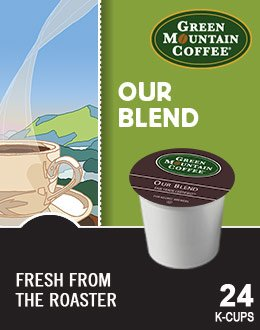 Green Mountain Coffee Our Blend, 24-Count K-Cups for Keurig