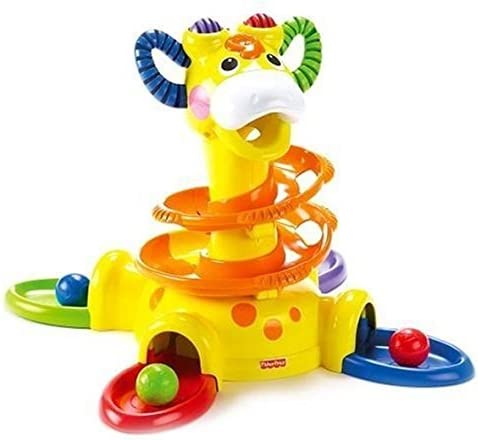 B000LT2IHI Fisher-Price Go Baby Go Sit-To-Stand Giraffe 418Wit2JIiL.