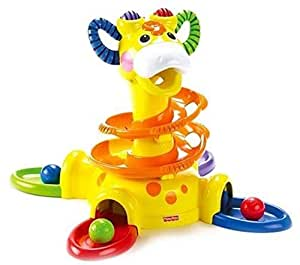 Amazon Com Fisher Price Go Baby Go Sit To Stand Giraffe