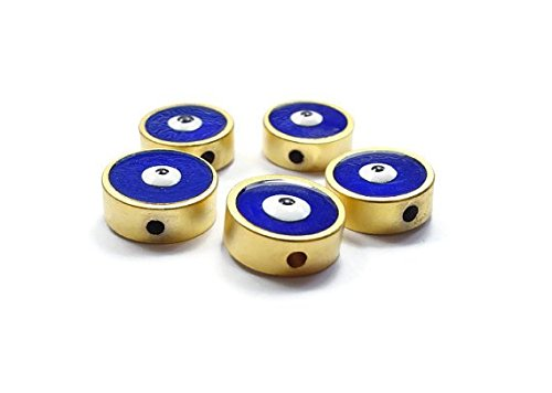 foxy-findings-evil-eye-collection-24k-gold-plated-big-size-navy-blue-enameled-evil-eye-spacers-10mm-