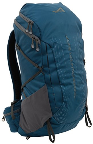 ALPS Mountaineering Canyon Trail Pack with Hydration Pocket & Port, Deep Sea, 30 L
