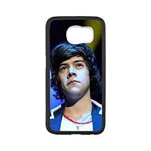 Samsung Galaxy S6 Cell Phone Case Black Harry Styles Music LSO7695644