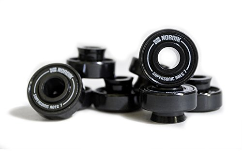 ec 7 Longboard Skateboard Spacer Bearings - Set of 8 (Sonic Bearing Spacer)