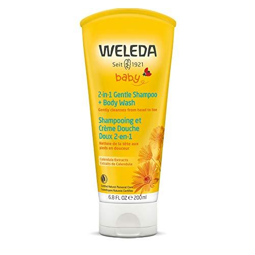 Weleda Calendula Shampoo and Body Wash, 6.8-Ounce Bath Shower Shampoo Gel