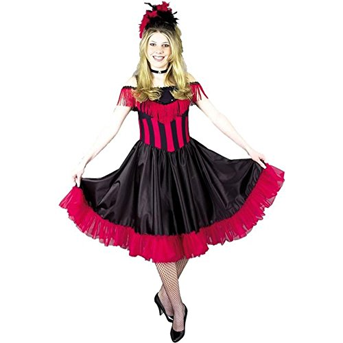 Purple Saloon Girl Costume (Fancy Saloon Girl Costume (Large 11-13))