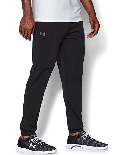 Under Armour Men's Relentless Warm-Up Pants - Tapered Leg, Black (001), Small