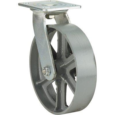 Ironton 8in. Swivel Steel Caster - 1,000-Lb. Capacity