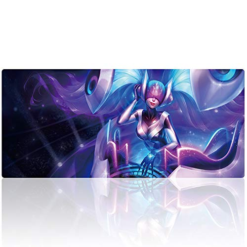 YEBMoo Extra Large Gaming Mouse Pads/Extended Protective Office Desk Mouse Mat Non-Slip Professional Precision Tracking Surface (35.4