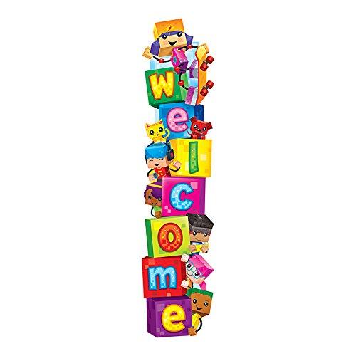 Trend Enterprises T-25054BN 3 Each 5 ft. Welcome Blockstars Quotable Expressions Banner