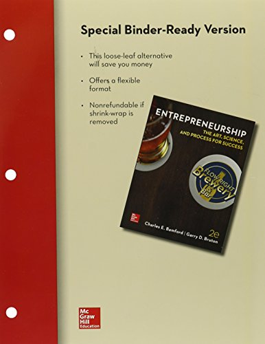 Loose-Leaf for Entrepreneurship: The Art, Science, and Process for Success, 2e