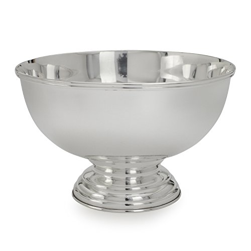 Silver Footed Bowl - Sur La Table The Cambridge Collection Footed Serving Bowl 3022, Large