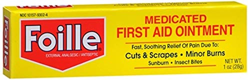 Foille Medicated First-Aid Ointment, 1 oz Tube ()