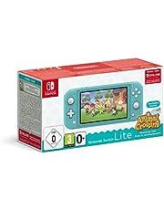 Nintendo Switch Lite Console + Animal Crossing: New Horizons - Turkoois (Nintendo Switch)