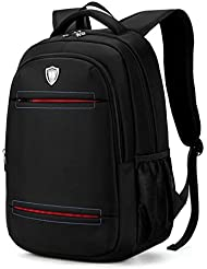 Bronze Times (TM)Canvas Waterproof 15.6 Inch Laptop Backpack Casual School Business Travel Daypack