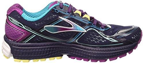 f4c6386b307 Brooks Women s Ghost 8 Running Shoe Peacoat Hollyhock Capri Breeze Size 8 M  US