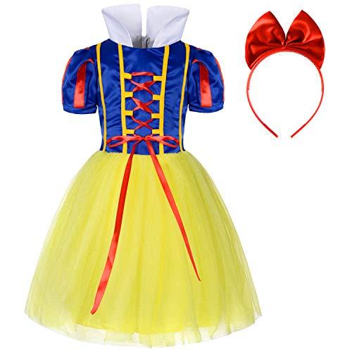 Pirncess Snow White Costumes Dress for Girls Dress UP 3t 4t -
