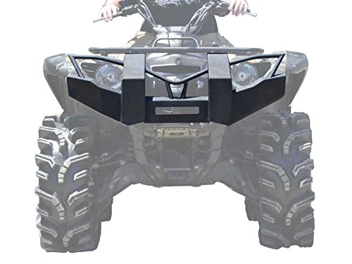 Grizzly 700 (SuperATV Yamaha Grizzly 550 / 700 Heavy Duty Front Brush Guard Bumper - Fits Years Up To 2015)