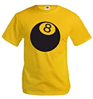 T-Shirt Billiard Ball-XL-Sunflower-Black