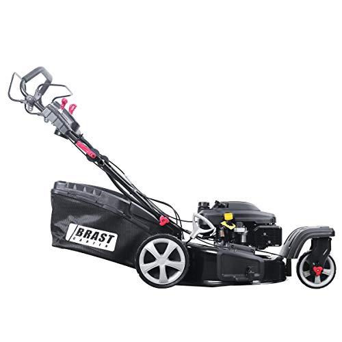 BRAST - Cortacésped de gasolina, 4,4 kW, 6 CV, tracción eléctrica ...