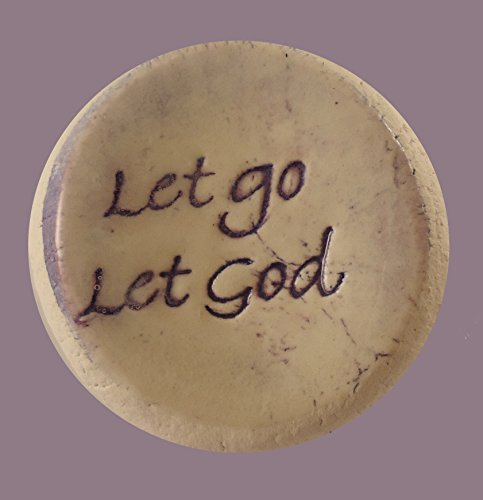 Cheap Let go Let God Ceramic Word Stone – Sold Individually