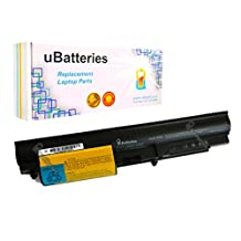 "UBatteries Laptop Battery IBM ThinkPad R400 T400 R61 R61i T61 (14.1"" Widescreen) 42T5228 42T5229 42t5230 42T5262 42t5263 42T5264 42T5265 43R2499 92P1142 41U3196 - 4 Cell, 2200mAh"