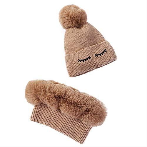 Knit Hat Winter Velvet Hat...