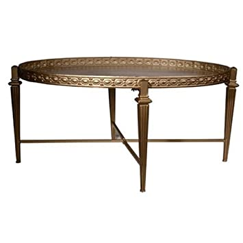 Donny Osmond Home Oval Coffee Table Tray Top Amazon Co Uk