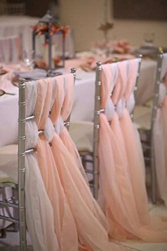 (24 x 72 inch Chiavari Chair Sash (Blush))