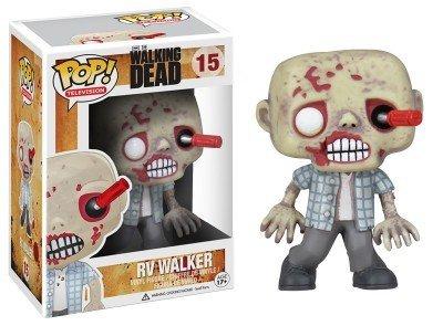 Television Walking Dead RV Walker Zombie action figure Bobble Head Classic Toys