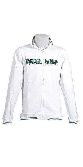 Padel Lobb - Chaqueta miner, talla s , color blanco: Amazon ...