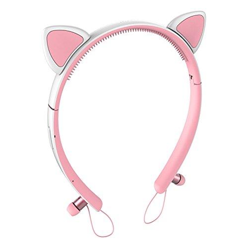 Detachable Hairband Bluetooth Cancelling Earphones