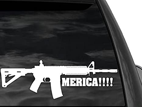 7x Ar 15 Ar15 Decal Sticker Car Window Wall Bumper Gun Ammo Assault Ri Stickerboy Skins For Protecting Your Mobile Device