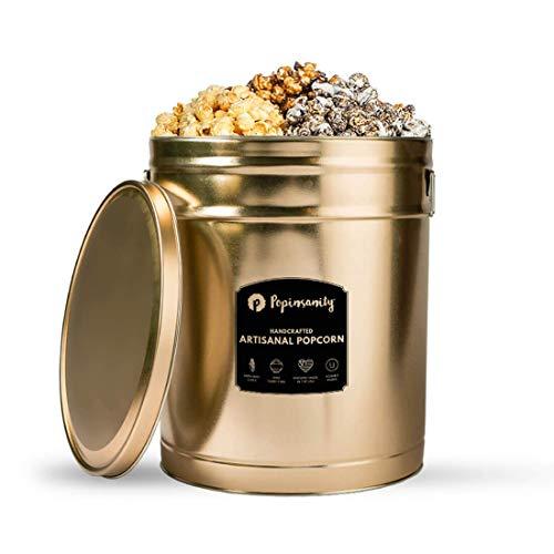 Multi Flavor Popcorn Tin