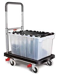 Magna Cart Flatform 300 lb Capacity Four Wheel Folding Platfo...