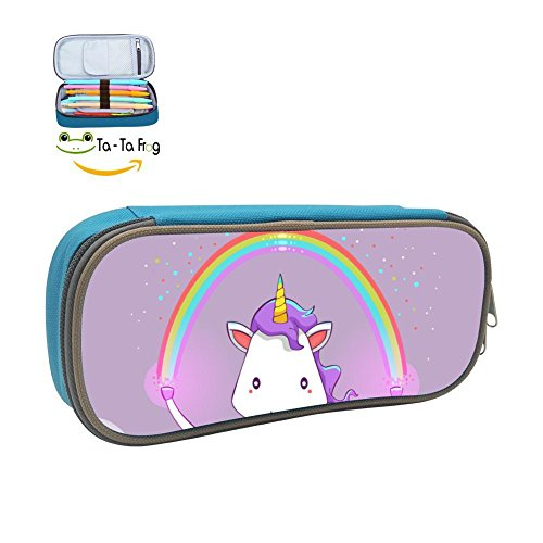 Pencil CaseUnicorn Magic Raibow Pen HolderLarge Capacity Stationery Organizer Storage -