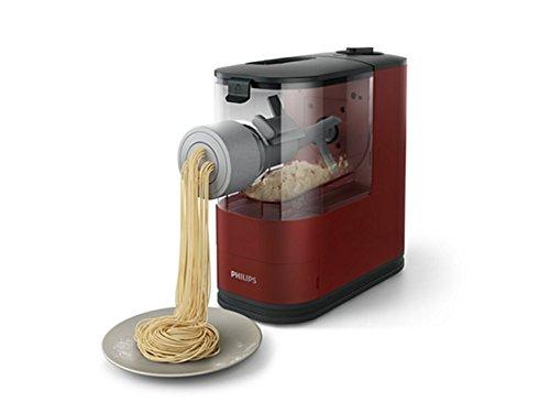 Philips HR2372/05 Viva Compact Pasta Maker, Red