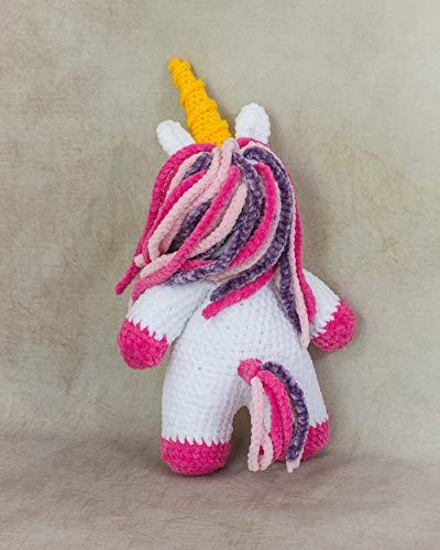 Handmade Crochet Toy MTO Liliana the Unicorn  Plushie