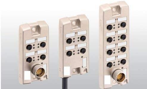 900-10M NC032 M12 Connector Distribution Boxes Alpha Wire