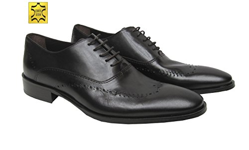 MUGA Herren Schnürschuhe Schuhe Braun