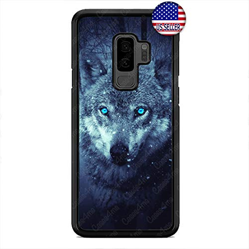 (Wild Wolf in The Woods Cell Phone Case Hard Custom Case Cover for Samsung Galaxy S10e S10 S10 Plus S9 S9 Plus S8 S8 Plus)